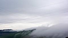 Wires and fog (Antonio Cinotti ) Tags: italy fog clouds landscape nikon italia nuvole hills wires tuscany crete siena toscana tamron nebbia paesaggio colline cretesenesi asciano cavi cavielettrici d7100 nikond7100