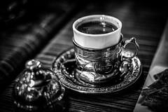 Turkish Coffee (Eva Erceg) Tags: food black coffee dinner turkey turkish bosnian kafa bosanska