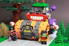 """HOLY FLATMAN..."" (Legoagogo) Tags: robin lego batman joker batgirl chichester moc legoagogo"