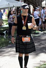 Miami Marathon and Half- (Mariner's Photography) Tags: usa sports outdoors athletics kilt florida miami marathon candid run runner halfmarathon 2014 2955