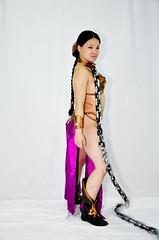 DSC_0091 (Studio5Graphics) Tags: hot sexy girl fun star starwars chains cool model nikon cosplay modeling wars cosplayer collar leia slave collared 2014