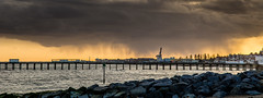 Here comes the rain (Stickyemu) Tags: sky storm rain landscape seascap nikon1755mm28dx nikond7100