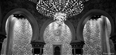 Sheikh Zayed Grand Mosque (@mons.always) Tags: bw nikon mosque abudhabi d90 18105mm sheikhzayedgrandmosque