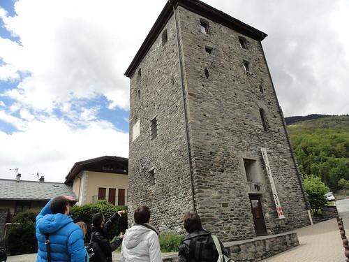 Bozel, tour sarrazine © D. Dereani, Fondation Facim