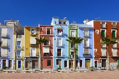 Beautiful Villajoyosa (Fotomondeo) Tags: houses españa valencia colors spain colours colores alicante casas villajoyosa lavilajoiosa lx7 lumixlx7 panasoniclumixlx7
