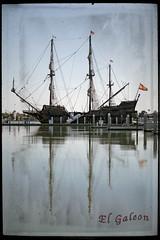 El Galeon (klick4) Tags: water boats spain sailing florida pirates ships sails vessel flags oceans
