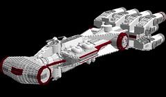 Tantive IV 1s=m (picardsbricks) Tags: starwars lego cr90 tantiveiv