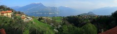~Panorama OF COMO @ Bellagio, ~ (PS~~) Tags: street trip travel italien cruise blue vacation sky italy p