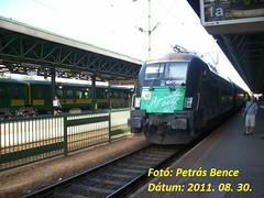 GySEV 1047 503-6 (Liszt Taurus) Sopron, 2011. 08. 30. (petrsbence) Tags: hungary siemens railway taurus bahn sopron 1047 vonat vast werbelok gysev