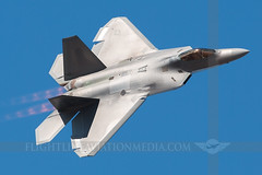U.S. Air Force Lockheed-Martin F-22A Raptor # 10-4193 (Flightline Aviation Media) Tags: airplane airport aircraft aviation jet airshow raptor f22 sacramento airforce usaf mather stockphoto californiacapital mhr canon50d 104193 bruceleibowitz 2527471