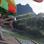 "Fun on Li river<a href=""http://www.flickr.com/photos/28211982@N07/15916035513/"" target=""_blank"">View on Flickr</a>"
