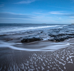 (Glen Parry Photography) Tags: sea seascape beach water nikon seascapes northumberland bamburgh d7000 glenparryphotography