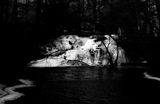 Winter Waterfall 4