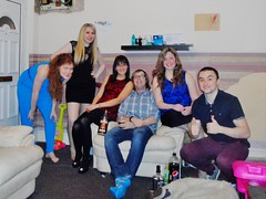 Night Out 23/01/15 (Elysia in Wonderland) Tags: friends night out lucy emily dancing clinton drinking clubbing pete elysia