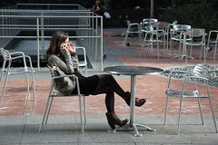 An open conversation (gsjames42) Tags: nyc newyorkcity james streetphotography gregory gregoryjames