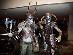 Skyrim Undead (greyloch) Tags: costumes cosplay sony creepy dragoncon 2013 topazlabs gamecharacter gamecharactercostume skyrim dscw230