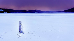 Frozen water Jetty (Diaz Paredes Photography) Tags: morning winter white lake inspiration cold nature water beautiful dark landscape early frozen outdoor jetty exploring fave learning sverige february rise jämtland frozenlake winterlandscape landskap amature winternature modernature