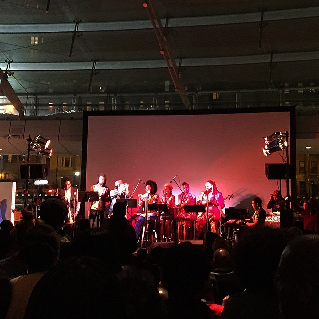 #soundtrack63 at the Brooklyn Museum with a kickass music/video performance celebrating Black History Month.