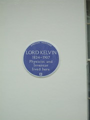 Lord Kelvin Plaque (D. S. Haas) Tags: uk greatbritain england house london westminster unitedkingdom blueplaque middlesex englishheritage lordkelvin halas belgravia historicalplaque unitedkingdomofgreatbritainandnorthernireland haas eatonplace williamthomson