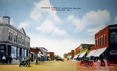 Main Street USA-Kansas Avenue (Dirt Street), Marceline, MO Disney's Marceline as it looked in 1905