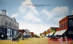 Main Street USA-Kansas Avenue (Dirt Street), Marceline, MO Disney's Marceline as it looked in 1905