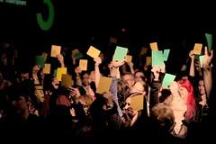 LIMQ - Ligue d'improvisation musicale de Qubec - Verts - Jaunes - 2 mai 2016 (eburriel) Tags: show light musician music canada green yellow night jaune lumire femme may stjoseph vert mai improvisation qubec nuit homme musique cercle artiste 2016 ligue eburriel