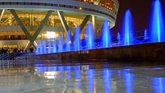 Milad Tower Yard , Tehran (daniyal62) Tags: tower night long exposure fuji fujifilm tehran milad xa1 xf27mm