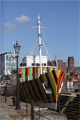 Dazzle Ship (donbyatt) Tags: liverpool merseyside