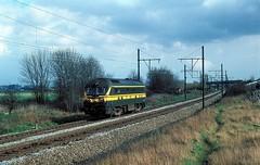 5949  Deurne  24.03.78 (w. + h. brutzer) Tags: analog train nikon eisenbahn railway zug trains locomotive 55 belgien lokomotive deurne diesellok eisenbahnen sncb dieselloks webru