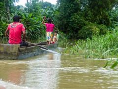 Family (felipebeatle) Tags: family river boat colombia native choc atrato quibd