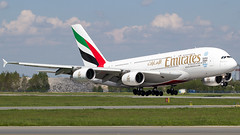 Airbus A380-861 | Emirates (f1_mirage) Tags: airport prague emirates airbus a380 vaclav havel prg a388 lkpr a6eof