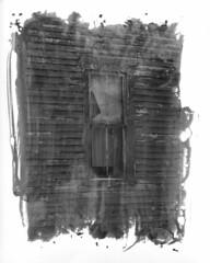 Painted Prints (xShaniaWrightx) Tags: bw house art film analog darkroom dark photography nikon artist tmax room painted fineart fine developer abandon prints medium bnw nikonf4
