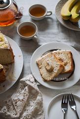 banana chiffon cake (asri.) Tags: onwhite 50mmf14 foodphotography 2016 foodstyling bakinghomemade