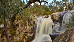 Gibraltar Falls (~Jek~) Tags: water creek geotagged flow australia canberra aus act australiancapitalterritory gibraltarfalls gibraltarcreek geo:lat=3548681762 geo:lon=14893441378