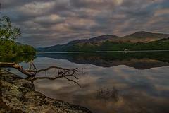 Loch Lomond (MC Snapper78) Tags: mountains reflection reflections landscape reflecting scotland hills lochlomond nikond3300 marilynconnor