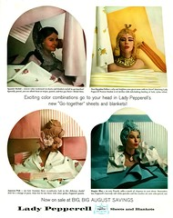Lady Pepperell Linens (jerkingchicken) Tags: sheets 1950s bedding