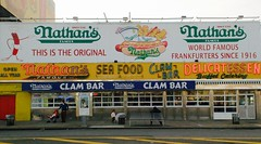 Storefront, Coney Island NYC (Miranda Ruiter) Tags: frankfurter storefront nyc