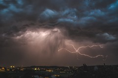 Thunderstorm (dellandre80) Tags: sky storm clouds landscape nikon nuvole cielo thunderstorm lightning giugno thunder notte paesaggio buio temporale 2016 fulmini longexposition lungaesposizione d7000