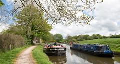 Greenber Field locks, Barnoldswick (ProspectMik) Tags: reflections boats canal lancashire pennines barges leedsliverpoolcanal greenberfieldlocks