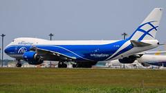 AirBridgeCargo Airlines | Boeing747-8HVF | VQ-BRJ | Tokyo Narita Airport (akg414p010) Tags: canon tokyo boeing ru boeing747 narita nrt naritaairport  abw  ef100400mm rjaa b748  7478f airbridgecargoairlines vqbrj eos7dmark