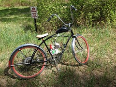 Went exploring down Bigfoot Trail (The Mac 3) Tags: bike sand mod paint engine kit 1960s modification install flyinghorse bicylce 2stroke beachcruiser rollfast
