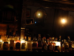 All the Bottles Lined Up (failing_angel) Tags: usa newyork manhattan blackcreek ussa orchardstreet 300515