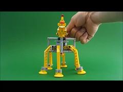 Bug Runner Film (David Roberts 01341) Tags: lego space transport technic walker future scifi mecha mech allterrain minifigure hexapod mechanicaltoy