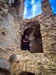 Castle (fabioseda) Tags: boy people italy castle ruins landmark it fabio seda calabria iphone 500px fiumefreddobruzio