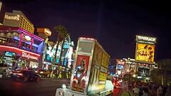 sin city... (BillsExplorations) Tags: vegas girls advertising neon lasvegas billboard neonlights mirage thestrip ceasars sincity harrahs lasvegasstrip