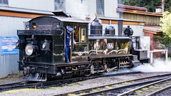 Puffing Billy Trip Melbourne VIC 02 May 2016 (30) (BaggieWeave) Tags: australia melbourne victoria steam vic steamengine steamtrain narrowgauge belgrave steamlocomotive puffingbilly
