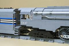 Dreyfuss_Hudson_13 (SavaTheAggie) Tags: lego steam engine locomotive hudson 464 henry dreyfuss new york central system nyc railroad train trains streamlined streamliner j3a
