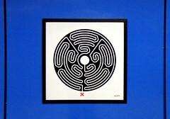 Labyrinth 62/270 (R~P~M) Tags: london art station train railway londonunderground labyrinth charingcross wallinger enamel vitreousenamel