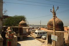 """Chir Ghat"", at Vrindavan, Mathura (ilovethirdplanet) Tags: india temple waterfront mathura ind uttarpradesh"