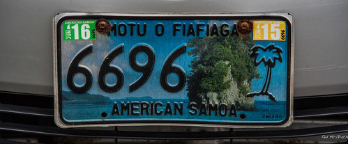 2016 - South Pacific Islands - American Samoa - June to June